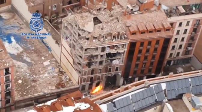 A vista de dron: así ha quedado la calle Toledo