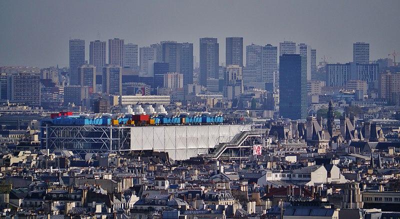 El Centro Pompidou de París cerrará cuatro años sus puertas para someterse a obras