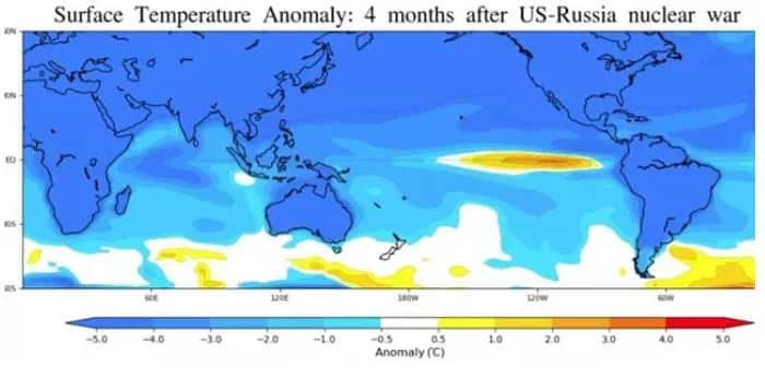 El 'Niño nuclear' cómo el conflicto atómico afectaría a los mares y recursos pesqueros