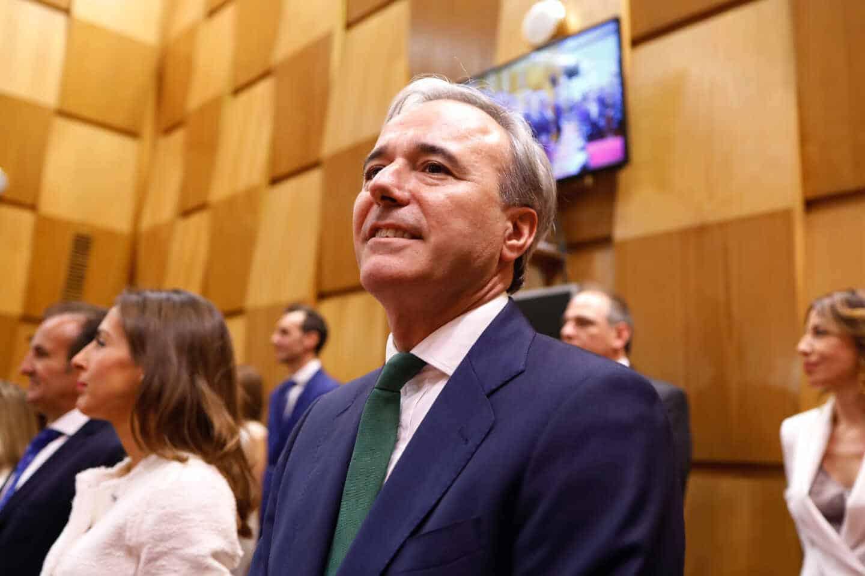 El alcalde de Zaragoza, Jorge Azcón, da positivo en Covid-19