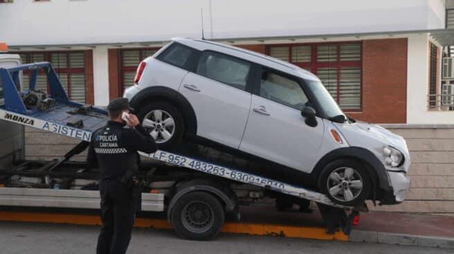 El atacante del ácido se saltó un control policial en Fuengirola durante una persecución