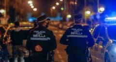 Agentes de la Policía Local de Sevilla.