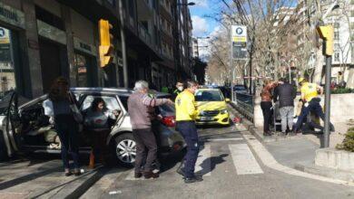 Ocho heridos, tres en estado grave, tras un atropello múltiple en Reus