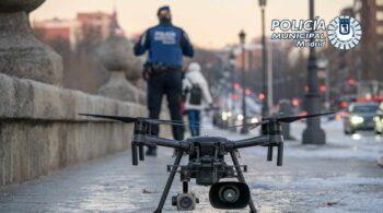 La Policía intercepta un dron que sobrevolaba ayer el Congreso de los Diputados y otros edificios estratégicos