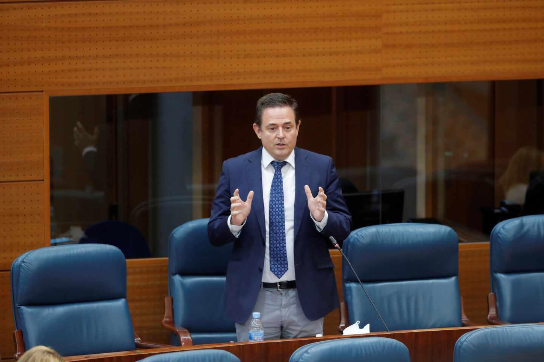 El diputado de Vox en la Asamblea de Madrid, Jaime de Berenguer.