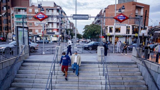 Parada de Metro.