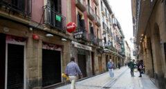 Casco viejo de San Sebastián.