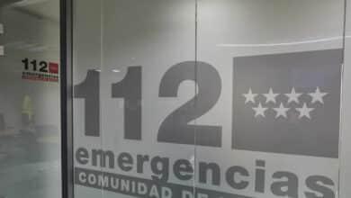 El 112 asiste a 150 personas que esperaban al autobús en Cotos (Madrid) por el frío y la nieve