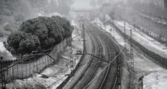 El temporal obliga a suspender los Cercanías del núcleo de Madrid