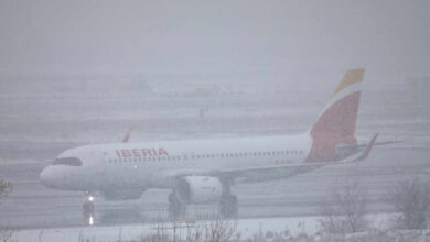 El aeropuerto de Barajas cierra todo el sábado