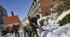 El Ejército a pico y pala