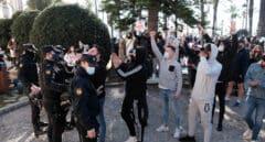 Manifestación en Palma de Mallorca del sector de la hostelería.