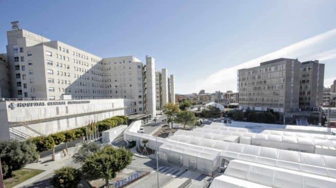 Hospital de campaña de Alicante.