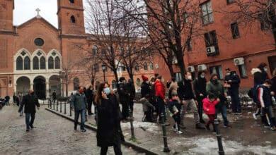 """""""El patio estaba lleno de humo y cristales"""": el pánico de los niños del colegio junto a la explosión de Madrid"""