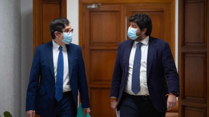 """La influencia de Génova en la dimisión del consejero de Murcia fue """"absoluta"""""""