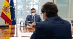 El presidente del Gobierno, Pedro Sánchez, preside la reunión del Comité de Seguimiento del Coronavirus
