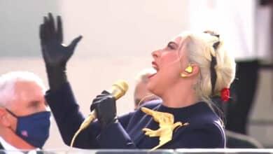 Así ha cantado Lady Gaga el himno de Estados Unidos en la investidura de Joe Biden