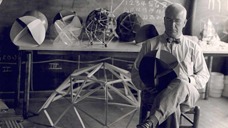 Buckminster Fuller en 1948.