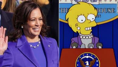 Los Simpsons lo vuelven a hacer, ya predijeron la investidura de la vicepresidenta Kamala Harris