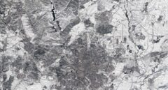 La espectacular imagen de Madrid nevado desde el satélite Sentinel-2