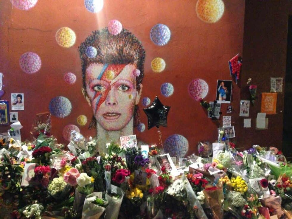 Memorial de David Bowie en Brixton, Londres
