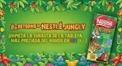 Nestlé subasta en Ebay por 12.000 euros una de sus clásicas tabletas de chocolate 'Jungly'