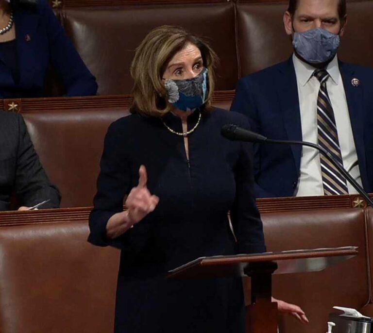 La Cámara de Representantes da vía libre el segundo 'impeachment' contra Trump