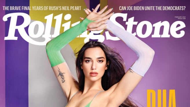 Portada de febrero de Rolling Stone.