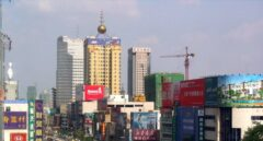 La ciudad china de Shijiazhuang.