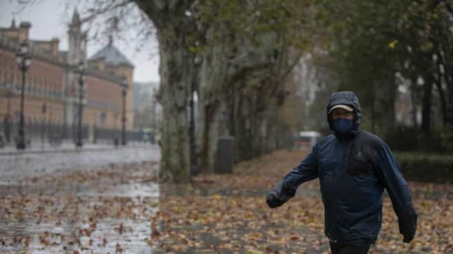 Tres frentes cruzarán este fin de semana con lluvias y vientos