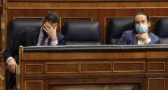 Turbulento matrimonio, así define The Economist la relación política entre Iglesias y Sánchez