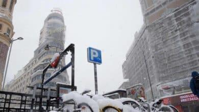 Sin luz, agua o calefacción en viviendas de Madrid con temperaturas bajo cero