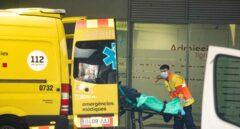 Servicio de urgencias en el Hospital de la Santa Creu, en Barcelona.