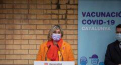 La consejera de Salud de la Generalitat, Alba Vergés.