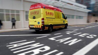 Herido un operario tras sufrir una caída desde seis metros de altura en Alicante