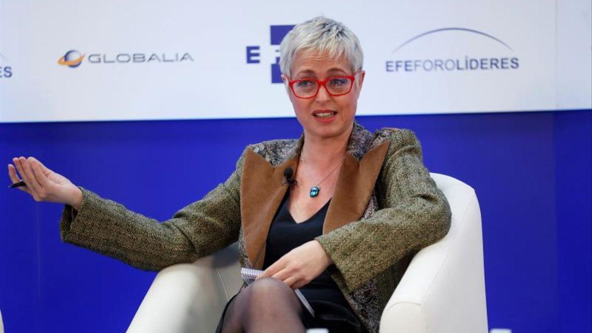 La periodista Anna Grau.