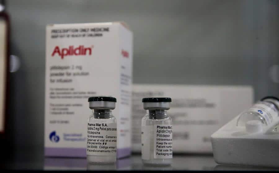 El fármaco Aplidin, basado en la plitidepsina y desarrollado por PharmaMar, ha dado resultados positivos contra el coronavirus.