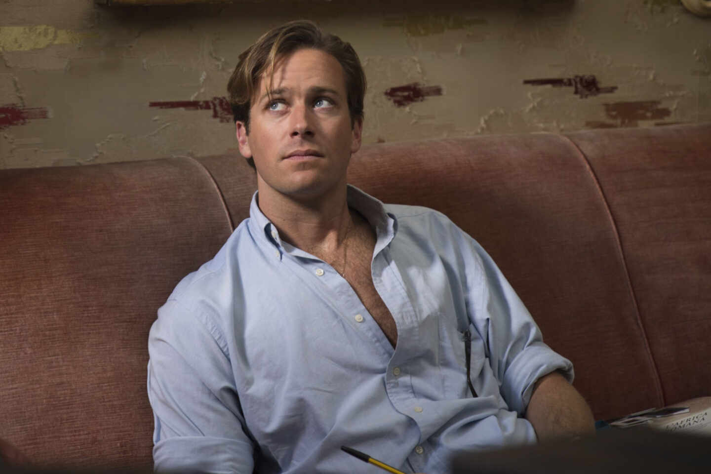 Armie Hammer en 'Call me by your name'