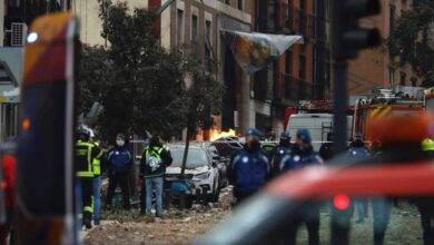 Cascotes, hielo y rosarios; la desgracia golpea de nuevo a Madrid