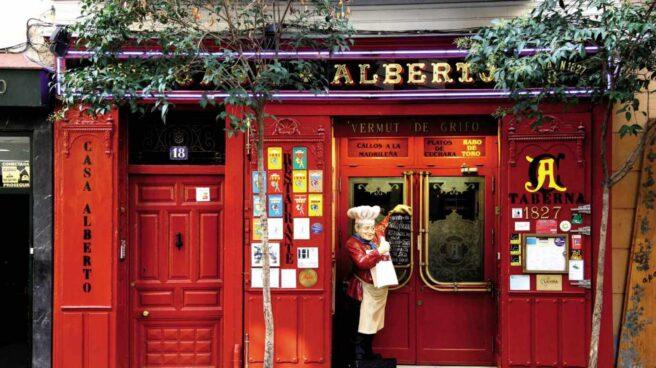 Casa Alberto, en Madrid, inaugurada en 1827.