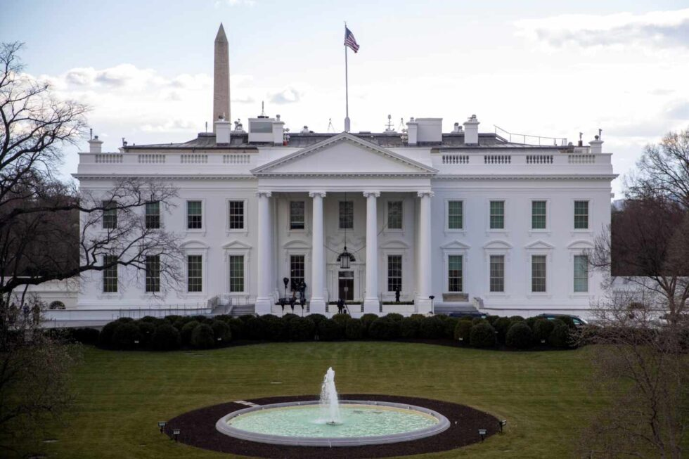 Vista de la fachada de la Casa Blanca, en Washington.