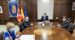 Salvador Illa, durante una visita a las autoridades de Castilla y León en el mes de octubre.