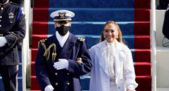 Jennifer López, en el acto de investidura de Joe Biden.