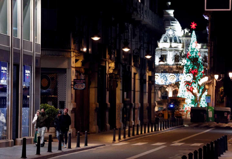 Imagen del centro de Valencia.