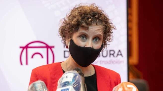 La alcaldesa de Molina de Segura, Esther Clavero.