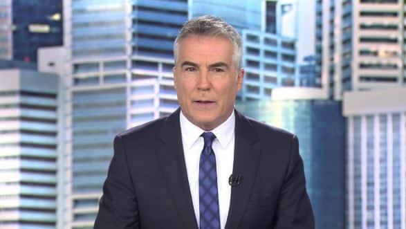 David Cantero, presentador del Informativo de las 15.00 horas de Telecinco.