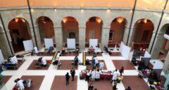 La Real Casa de Correos, convertida en centro de donación de sangre.