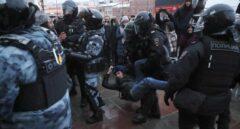 Más de 5.000 detenidos en las protestas para exigir la liberación del opositor ruso Alexei Navalni