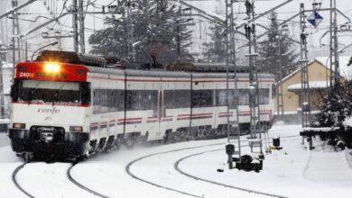 Así se prepara la red de Cercanías para evitar el caos por las nevadas