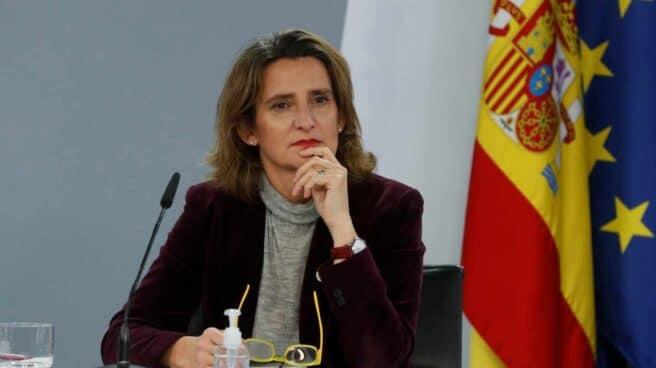 La vicepresidenta cuarta y ministra para la Transición Ecológica, Teresa Ribera.